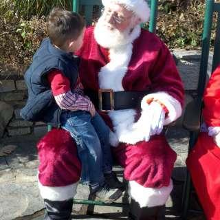 Santa on the Chimney!