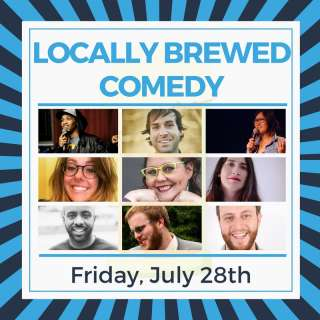 Locally Brewed Comedy - Asheville Showcase - Funny Business at the Grey Eagle