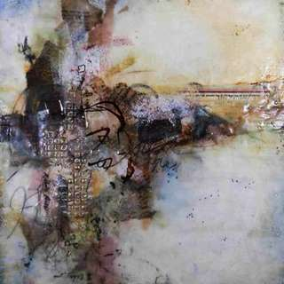 Layers: Encaustic Mixed Media Methods & Materials with Michelle Belto, In May, one spot opened