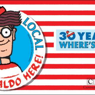 Where's Waldo in North Asheville Wrap-Up Party