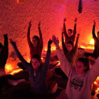 Yoga Nidra and Salt Therapy at The Salt Spa of Asheville & Himalayan Salt Cave Sanctuary
