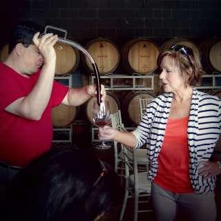 Addison Farms Vineyard Barrel Tasting