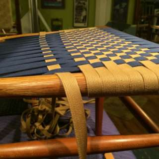 Chair Weaving with Shaker Tape