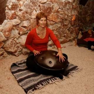 Bobinsana Tea & Handpan Ceremony inside the Salt Cave