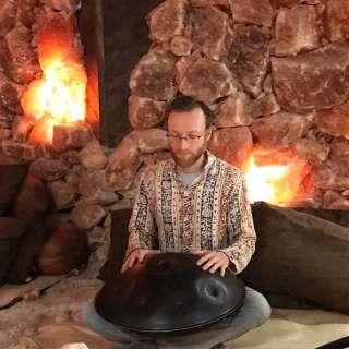 New Moon Handpan Meditation inside the Salt Cave
