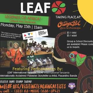 LEAF presents: Legends of Africa
