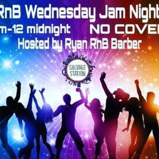 Ryan RnB Barber & Friends present RnB Wednesday Jam Night!