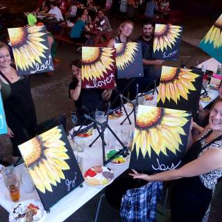 Drink and Paint at Hillman Beer