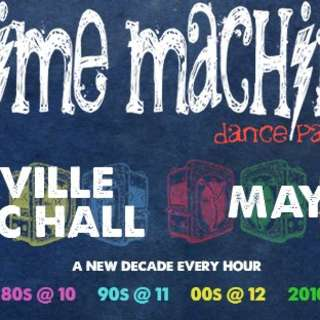 Time Machine Dance Party | Asheville Music Hall
