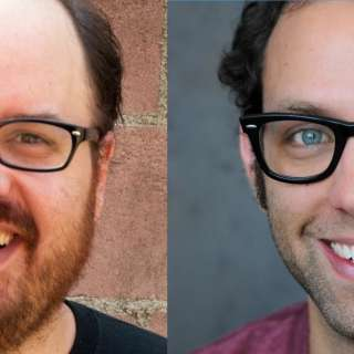 Comedians Dave Waite (Jimmy Fallon, Last Comic Standing) and Grant Lyon (Laughing Skull Fest Winner, Funny or Die)
