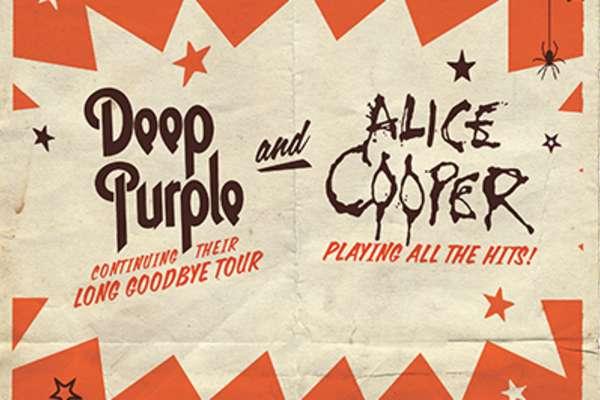 Deep Purple y Alice Cooper en Concierto