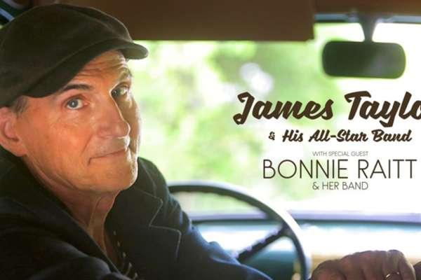 James Taylor con Artista Invitada Bonnie Raitt