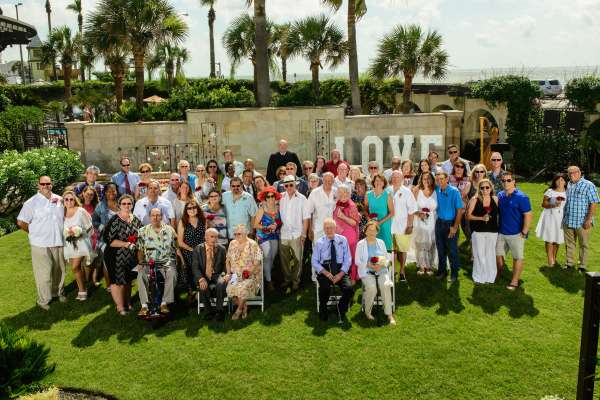 Hotel Galvez Annual Wedding Vow Renewal