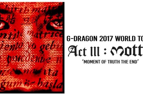 G-DRAGON en Concierto