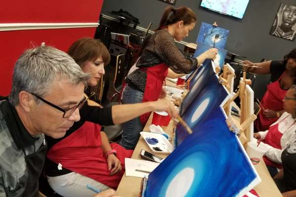 25% Off Paint Parties at Center Stage Gallery