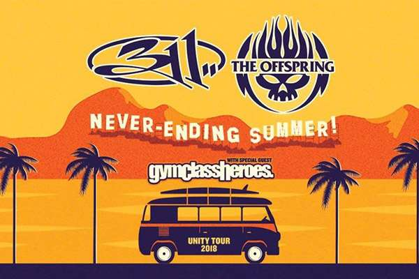 311 AND THE OFFSPRING WITH GYM CLASS HEROES