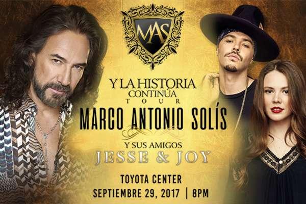 Marco Antonio Solís con Jesse y Joy en Concierto