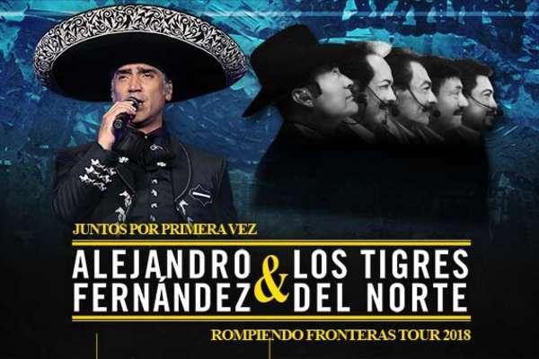 Alejandro Fernández y Los Tigres del Norte en Concierto