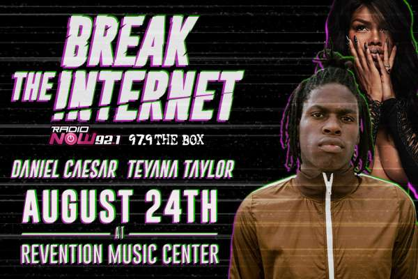 Break The Internet: Daniel Caesar y Tevana Taylor en Concierto