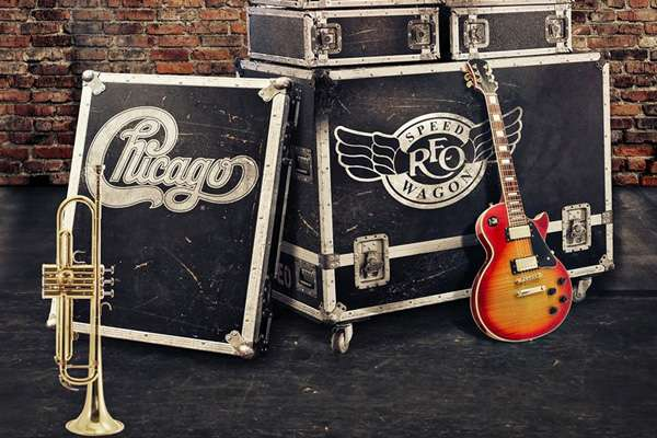CHICAGO AND REO SPEEDWAGON WITH MICHAEL TOLCHER