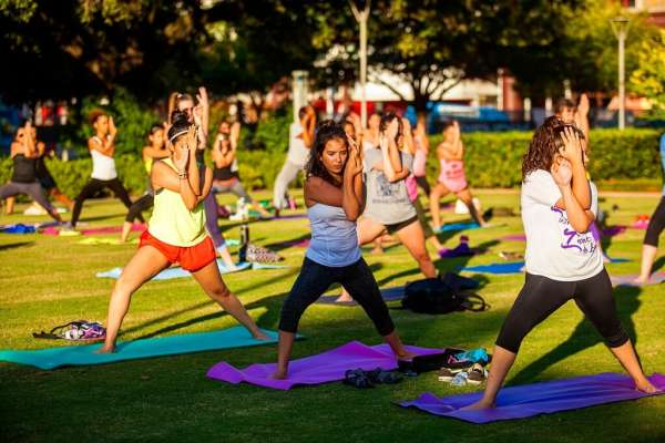 Fitness in the Park Yoga