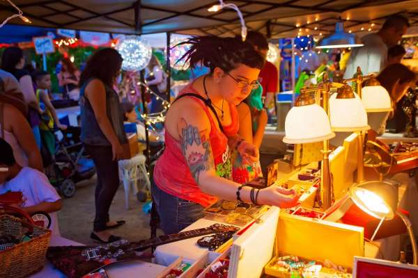 Flea by Night presented by Green Mountain Energy