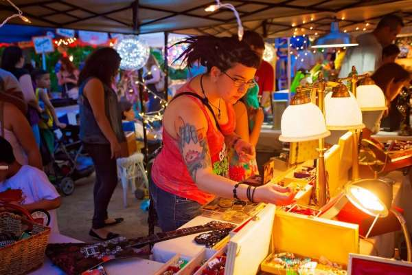 Winter Flea by Night presented by Green Mountain Energy