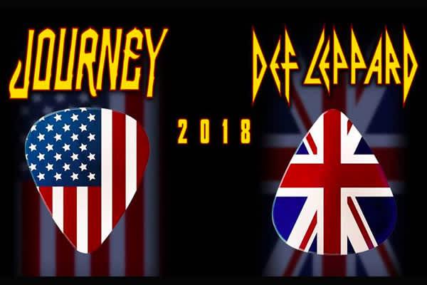 Journey y Def Leppard