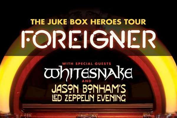 Foreigner - Juke Box Heroes Tour