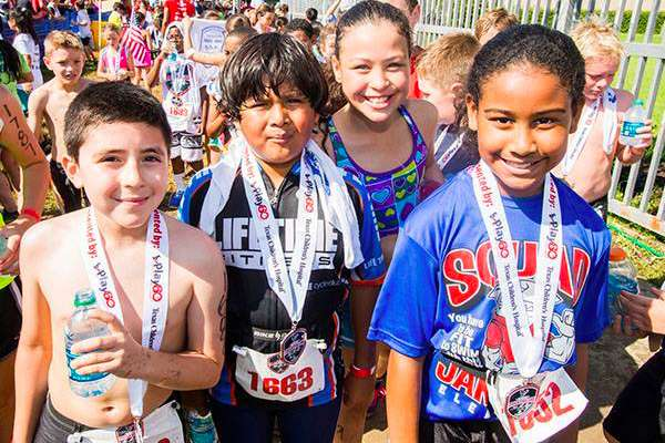 Houston Texans Kids Triathlon Presented by Texas Children's Hospital