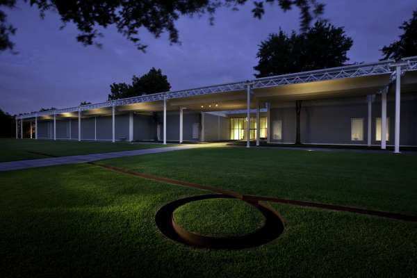 Night at the Menil