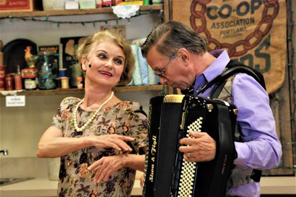 """A Musical Cabaret with Mark & Helena Greathouse """"You Do Speak English, Don't You?"""""""