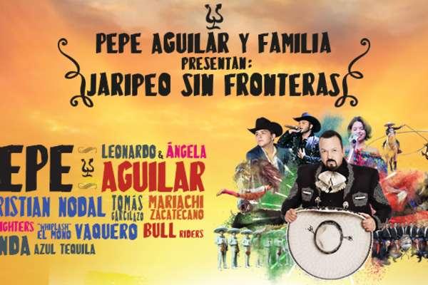 Pepe Aguilar y Familia: Jaripeo sin Fronteras