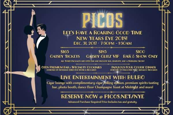 Celebración de Año Nuevo en Picos