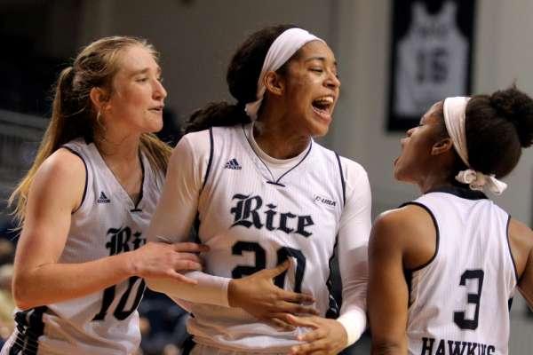 Rice Owls Women's Basketball V. UTSA Roadrunners