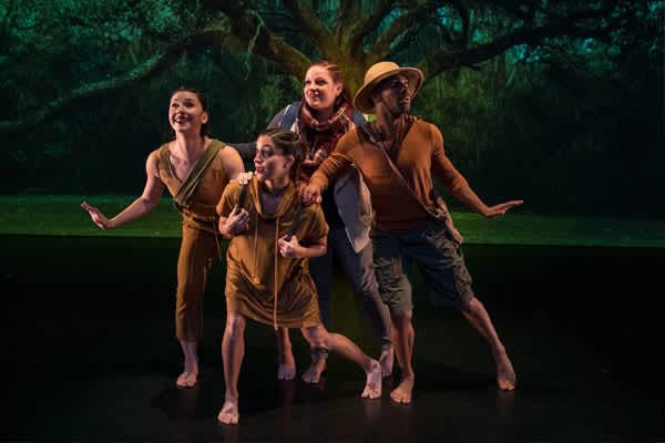 Moving Myths: Story Telling Through Dance
