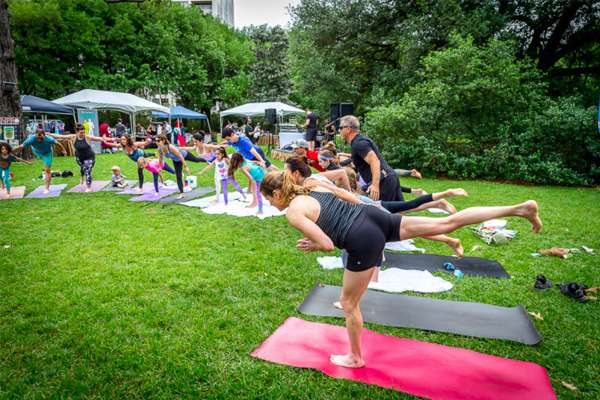 Yoga on the Meadow