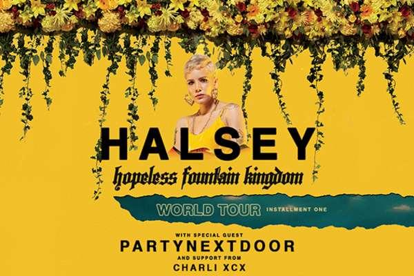 Halsey en Concierto