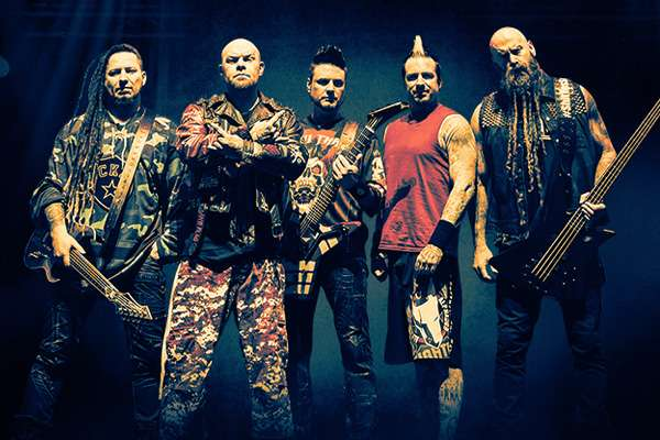 FIVE FINGER DEATH PUNCH AND BREAKING BENJAMIN WITH BAD WOLVES