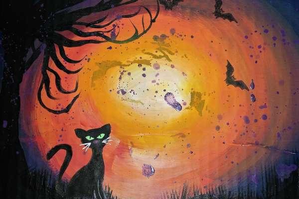 Kitty Watercolor Class
