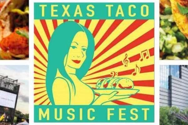Texas Taco Music Fest en Discovery Green