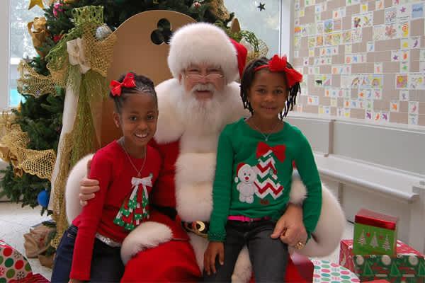Galletitas con Santa en el Museo de los Niños