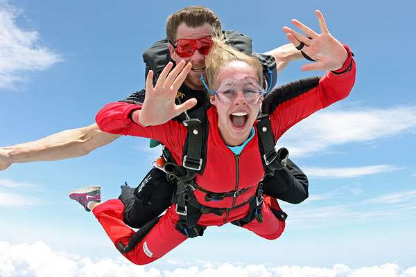 Save $50 on your first Skydive!