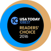 USA Today 10 Best Reader's Choice Award 2016