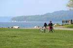 Seattle Southside Itinerary Bicycles at Des Moines Beach Park