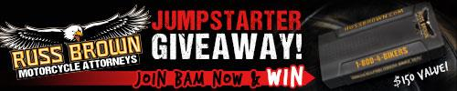 Russ Brown Jumpstarter Giveaway