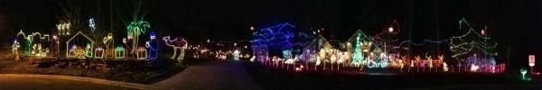 Best Christmas Lights Display - 15509 Golden Eagle Nest