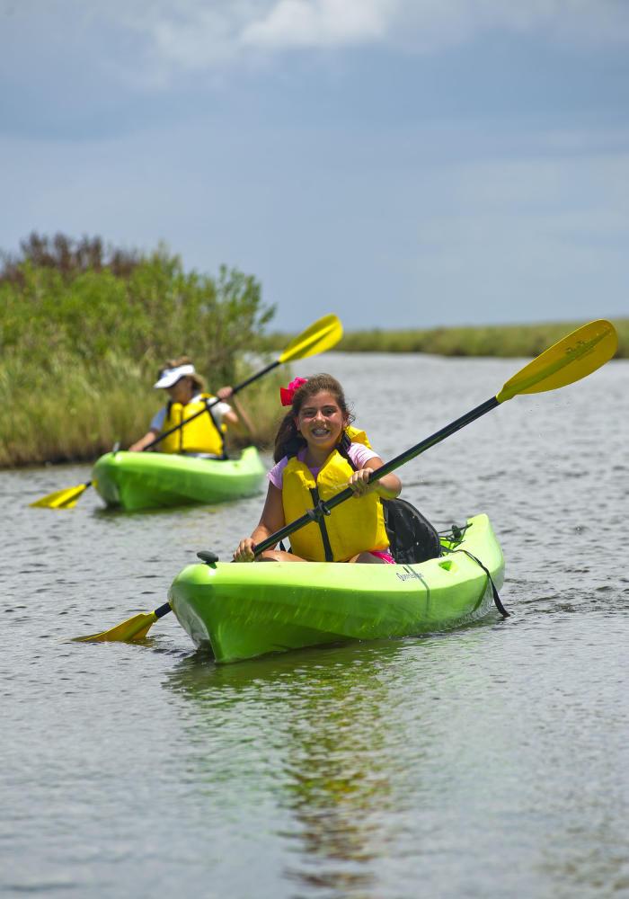 Port Arthur Canoe - Sea Rim State Park