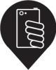 Selfie spot icon