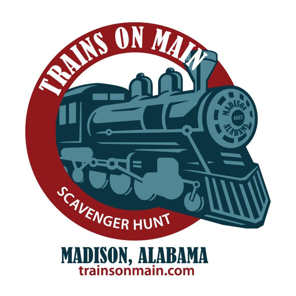 trains on main logo